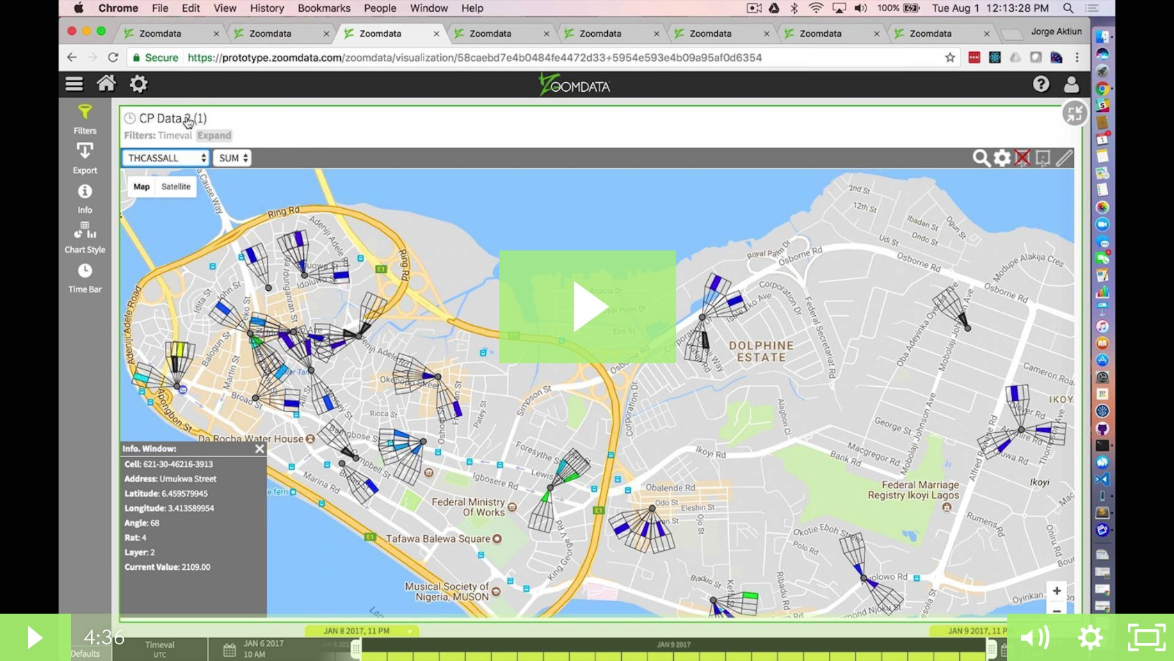 Geospatial Data Visualization Demo with Jorge Alarcon