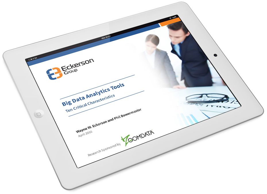 Eckerson Group Big Data Analytic Tools Checklist