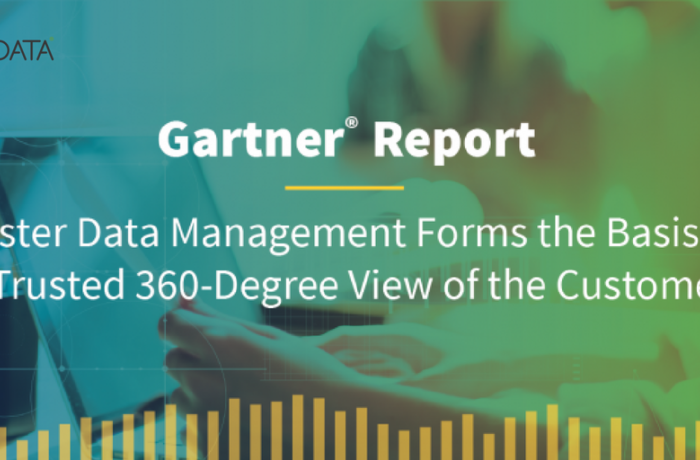 Gartner Research Customer 360 Master Data Management