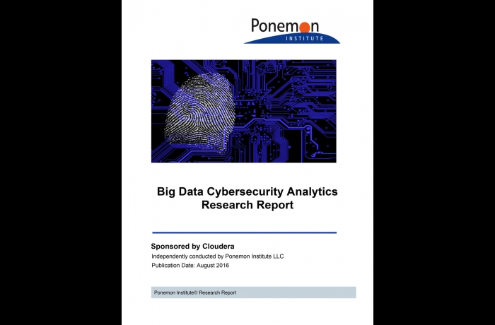 Ponemon Cloudera Report