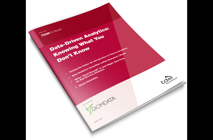 TDWI eBook: Data-Driven Analytics: Knowing What You Don't Know