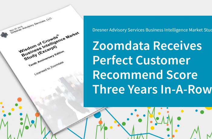 Zoomdata receives Dresner award 2019