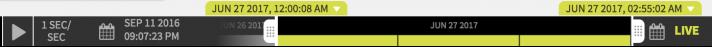 Data DVR Time Bar