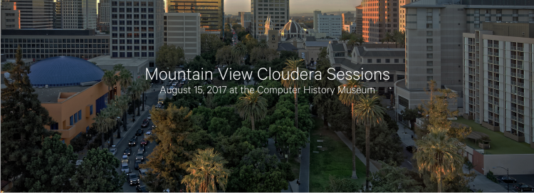 Mountain View Cloudera Sessions