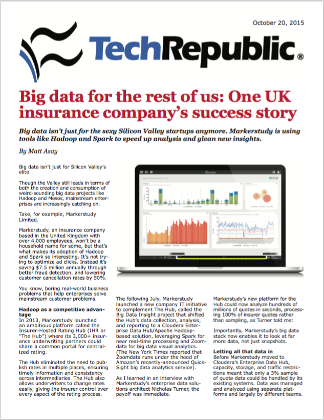 Big Data Insurance Case Study