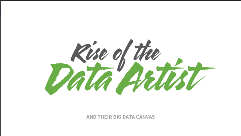 Rise of the Data Artist