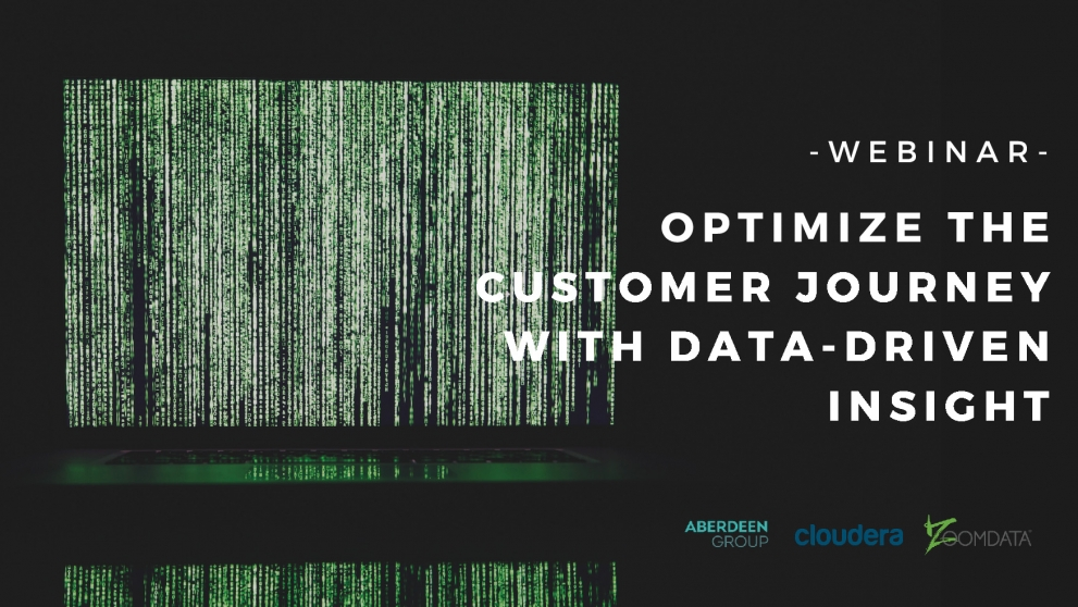 Optimize the Customer Journey with Data-Driven Insight