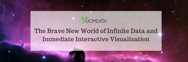 The Brave New World of Infinite Data and Immediate Interactive Visualization