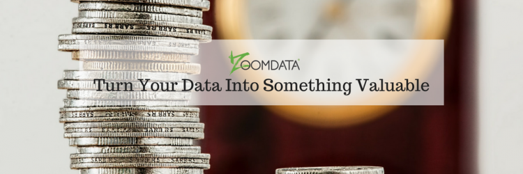 Turn Your Data Into Something Valuable