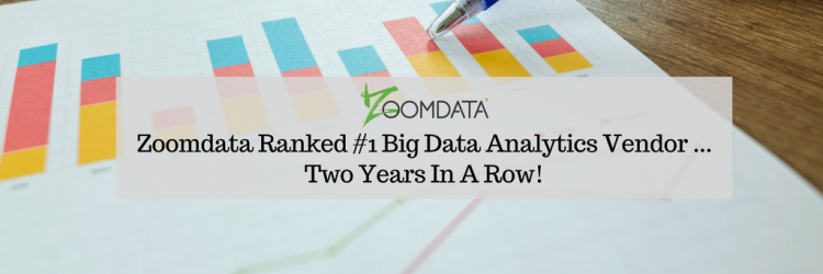 Zoomdata #1 Top Rated Big Data Vendor