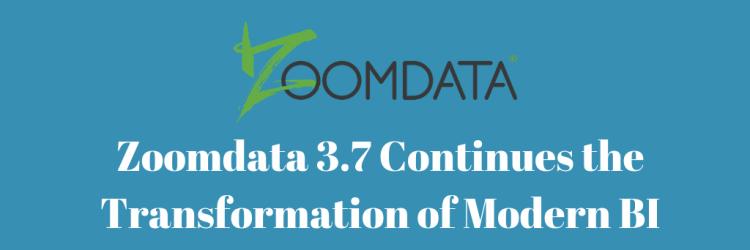 Zoomdata 3.7 Long Term Release