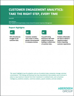Aberdeen White Paper: Customer Engagement Analytics