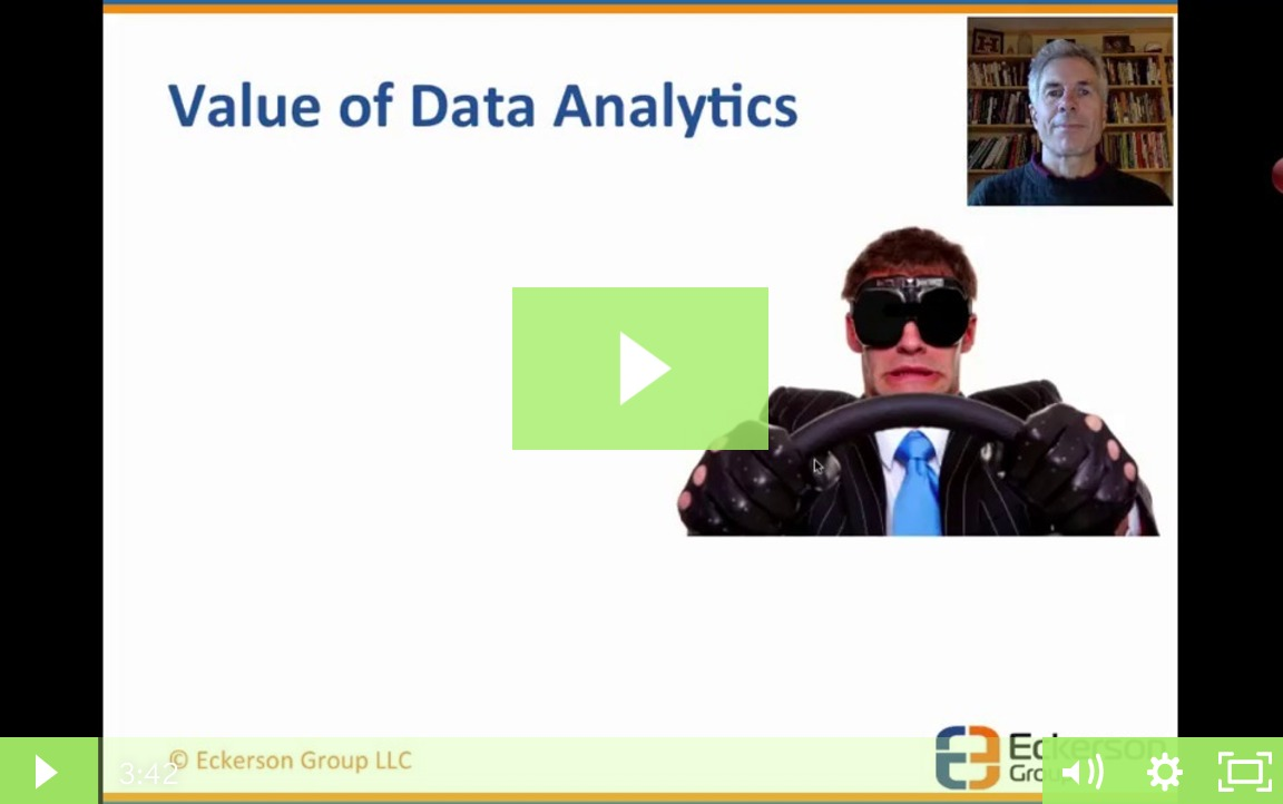The Value of Data Analytics